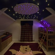 star ceiling kids bedroom fiber optic lighting