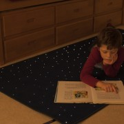 fiber optic carpet sensory lighting