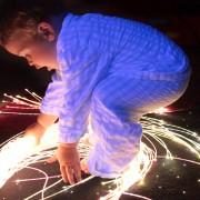 fiber optic sensory sideglow lighting