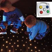 fiber optic carpet sensory lighting interactive touch pad