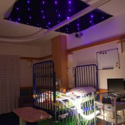 sensory fibre optic lighting children hospital ward